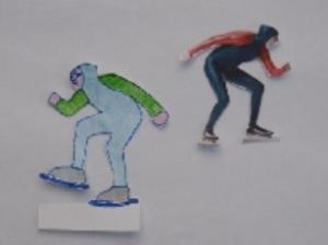 Hoe kun je een schaatser laten dansen op ijs?