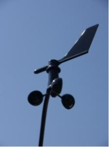 Wat vertelt jou een windmeter?