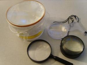 Hoe kan ik een vergrootglas maken ?