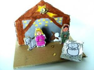 Licht in de kerststal