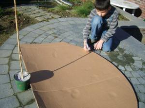 Hoe maak je een zonnewijzer ?