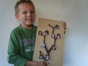Kun je een stamboom timmeren ?