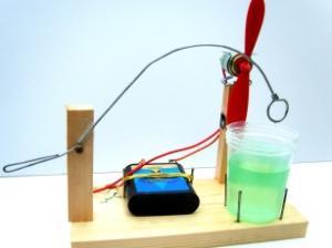 Maak een automatische bellenblaasmachine.